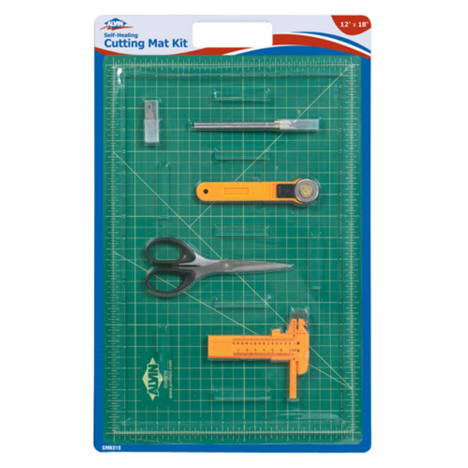 Alvin Self-Healing Cutting Mat Kit 12 x 18