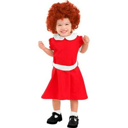 Toddler Orphan Annie Costume - Orphan Annie Costumes