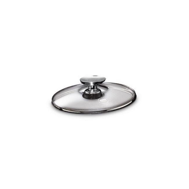Berndes 007018 7 po couvercle en verre tremp- avec bouton inoxydable - image 1 de 1