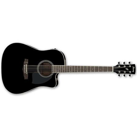 Ibanez PF Series PF15ECE Dreadnought Cutaway Acoustic-Electric Cutaway Guitar Gloss - Ibanez Acoustic Preamps