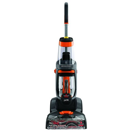 Bissell Proheat 2X Revolution Pet Full Size Upright Carpet Cleaner With Antibacterial Spot   Stain Remover  1548
