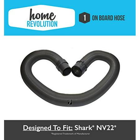 Genuine Shark Navigator NV22, NV22L, NV22T On-Board Vacuum Cleaner Hose; OEM Part # 1114FC - Genuine Vacuum Hose
