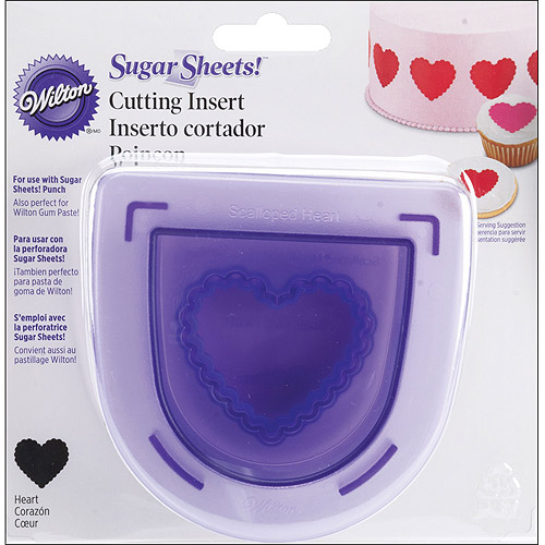 Wilton Cutting Insert Scalloped Heart