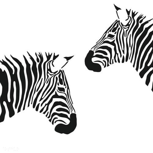 Design With Vinyl Zebra Zoo Animal Wild Picture Art Design Girls Bedroom Home Decor Wall Decal