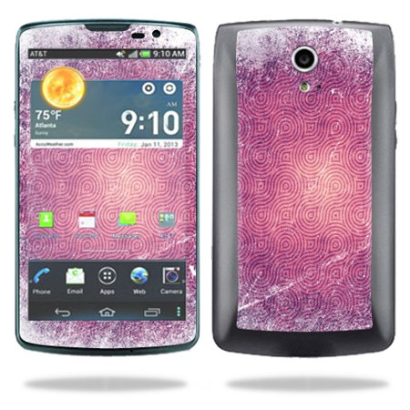 Mightyskins Protective Vinyl Skin Decal Cover for Pantech Discover AT&T Cell Phone wrap sticker skins Purple - Purple Swirl