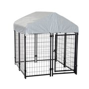 "Pawhut 50"" x 46"" x 58"" - 72"" Outdoor Covered Dog Box Kennel"