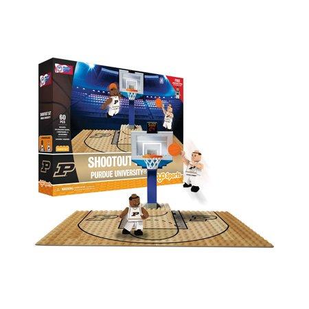 Purdue Indiana Basketball (Purdue Boilermakers OYO Sports NCAA Basketball Court Shootout Set Minifigures 60)