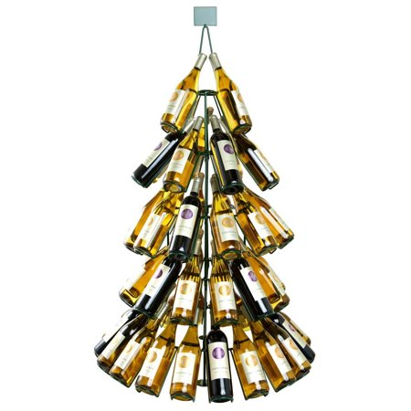 christmas tree rack wine regarding shop bottle save stand large