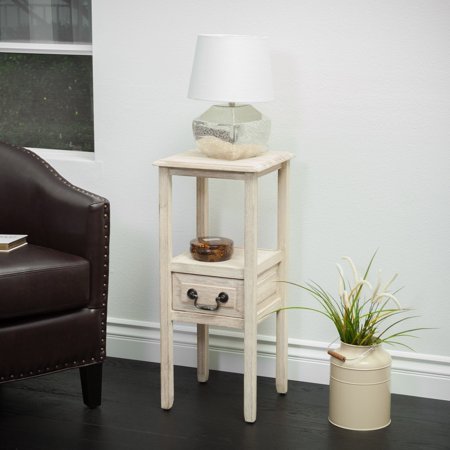 Rivera Acacia Wood Accent End Table