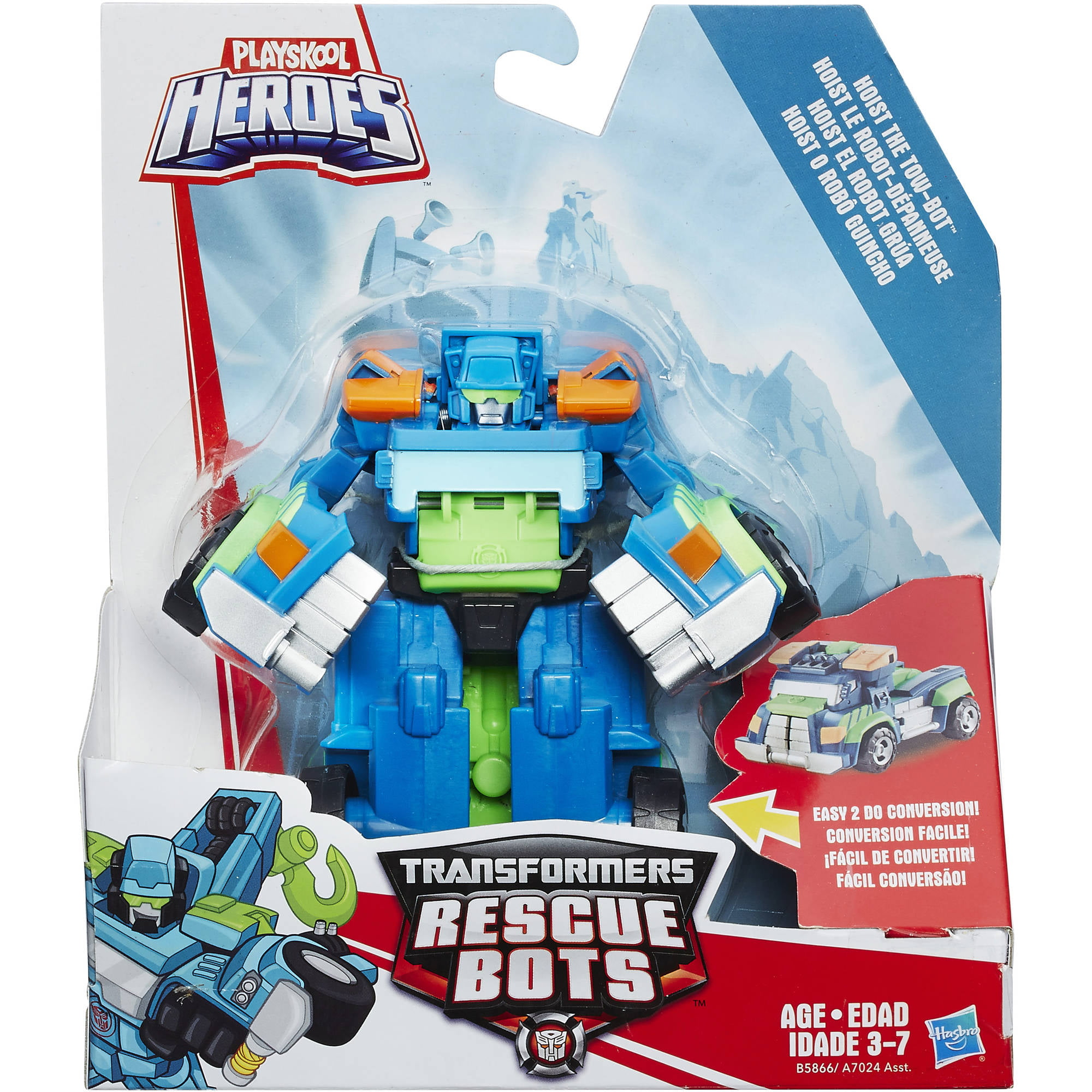 playskool heroes transformers rescue bots hoist the tow bot