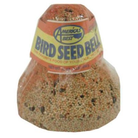 Arizona's Best LB Wild Bird Seed Bell Instant Feeder Put Up Any Time & Only