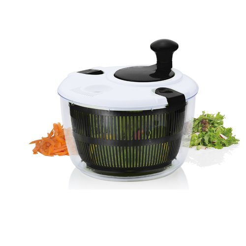 Brilliant Veggie Salad Spinner by