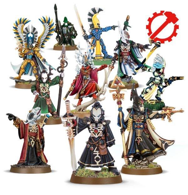 Craftworld Aeldari Collection Warhammer 40,000 Set of 10 by