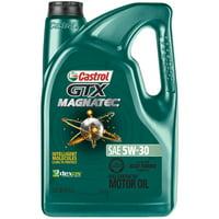 Deals on Castrol 03057 GTX Magnatec 5W-30 Full Synthetic Motor Oil 5-Qt