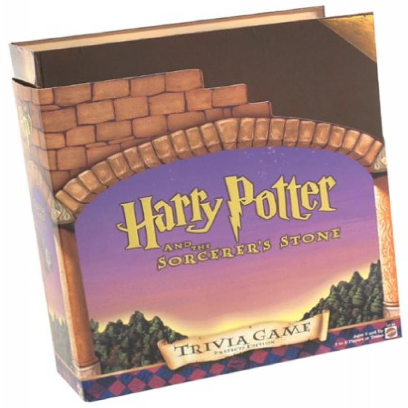 Harry Potter and the Sorcerer's Stone Trivia Game Prefects Edition by