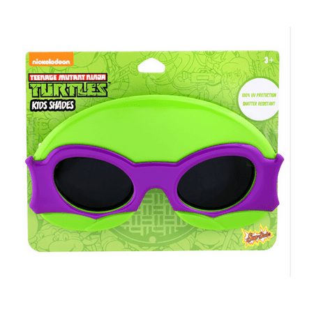Party Costumes - Sun-Staches - Kids Super Hero Shades - TMNT Purple SG2419 - Tmnt Costume Kids