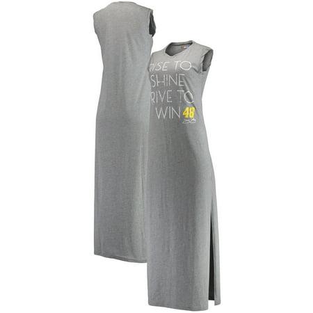 Jimmie Johnson Concepts Sport Women's Plunge Knit Nightdress - (Fan Gown)