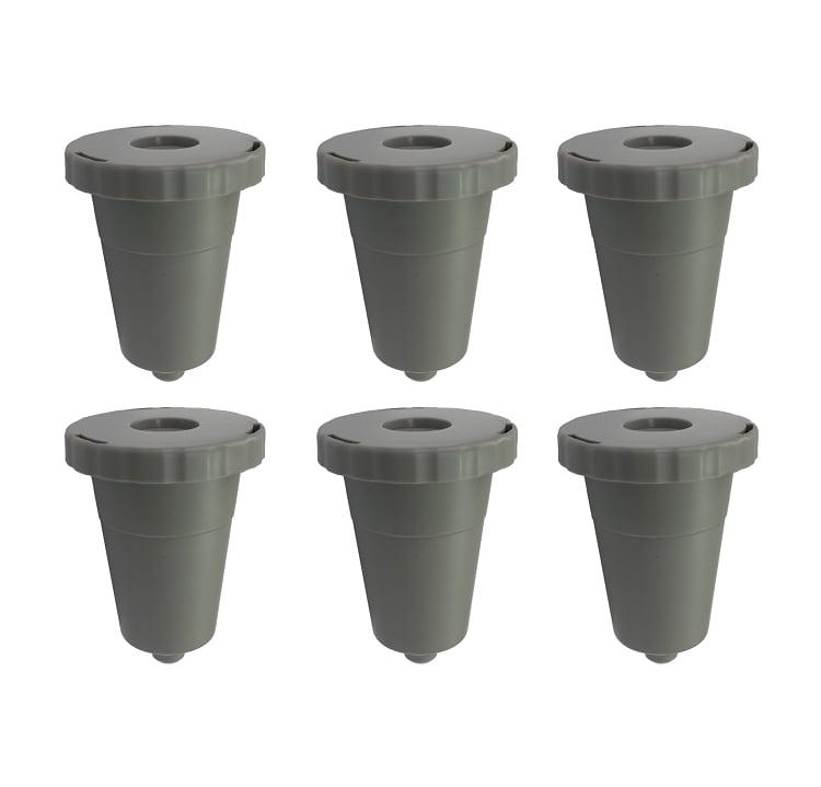 6 Reusable Coffee Filter Set For Keurig K-Cup K45 K65 K70 K75 K10