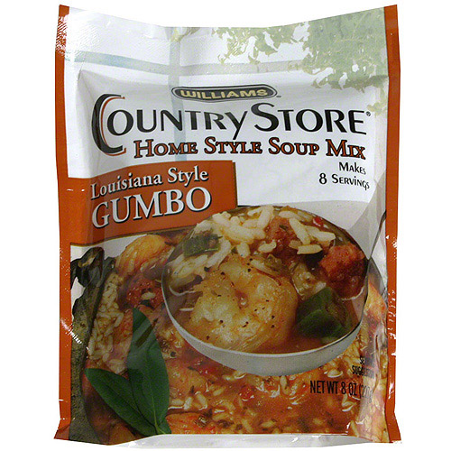 Williams Louisiana Style Gumbo Mix, 8 oz (Pack of 6)