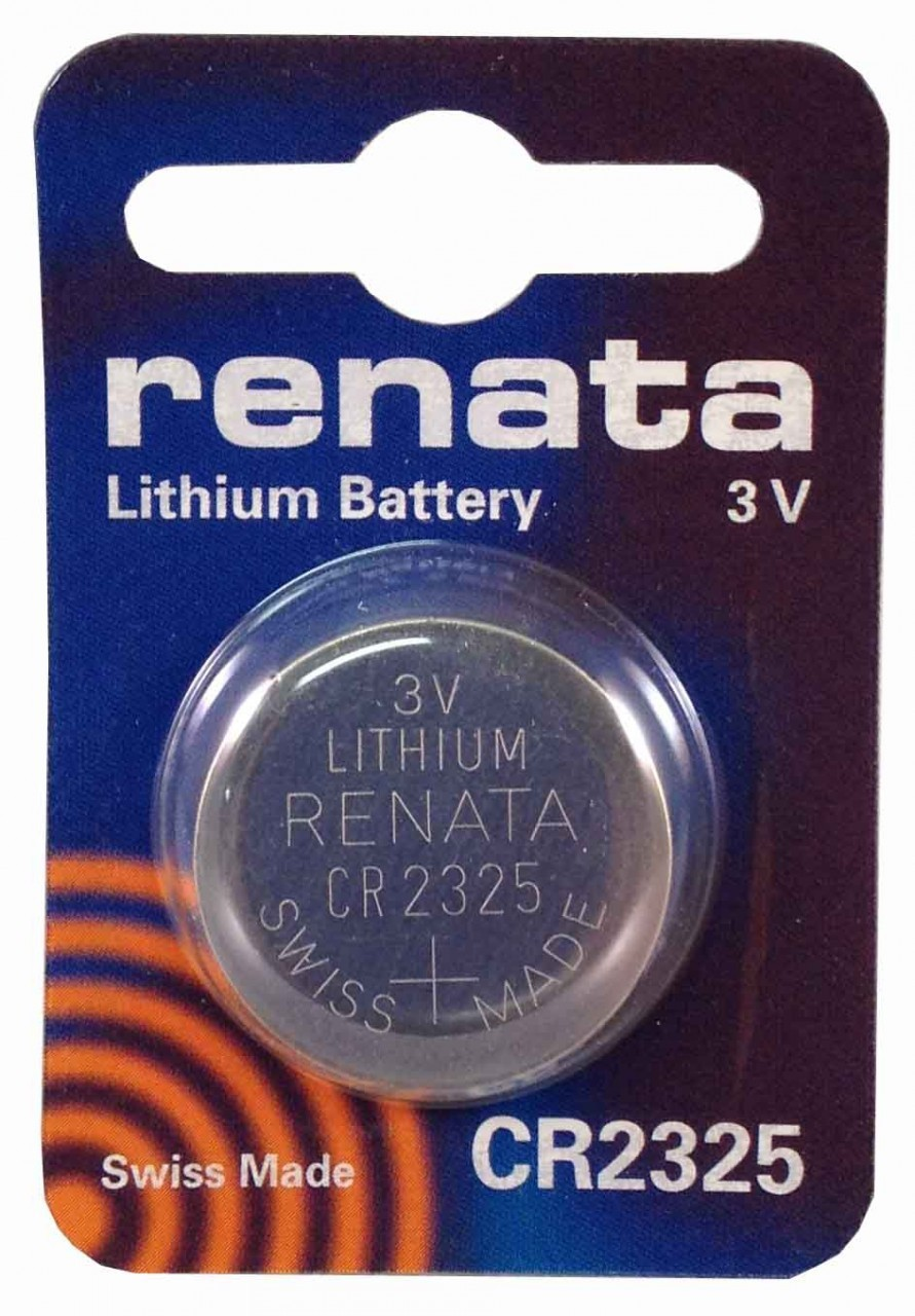 Renata CR2325 3V Lithium Coin Battery 10 Pack + FREE SHIPPING! by