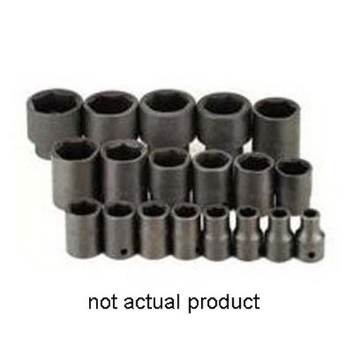 """SK Hand Tools 34038 1 2"""" Drive 6 Point Standard Impact Socket 1-3 16"""" by SK PROFESSIONAL TOOLS"""