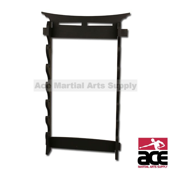 6 Tier Sword Wall Display Stand Rack by