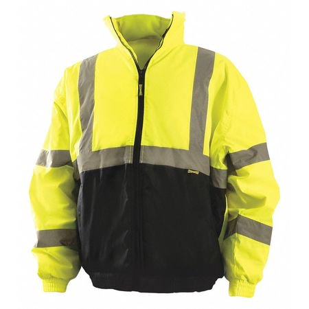 OCCUNOMIX High Visibility Jacket,Yellow,L