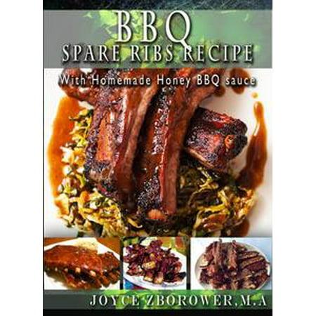 BBQ Spare Ribs Recipe - eBook - Halloween Ribs Recipe
