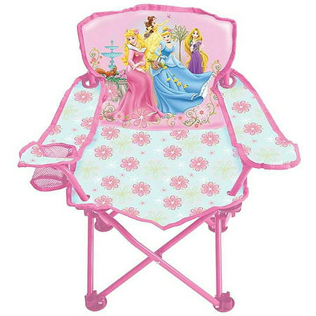 Disney Princess Fold N Go Patio Chair Walmart Com