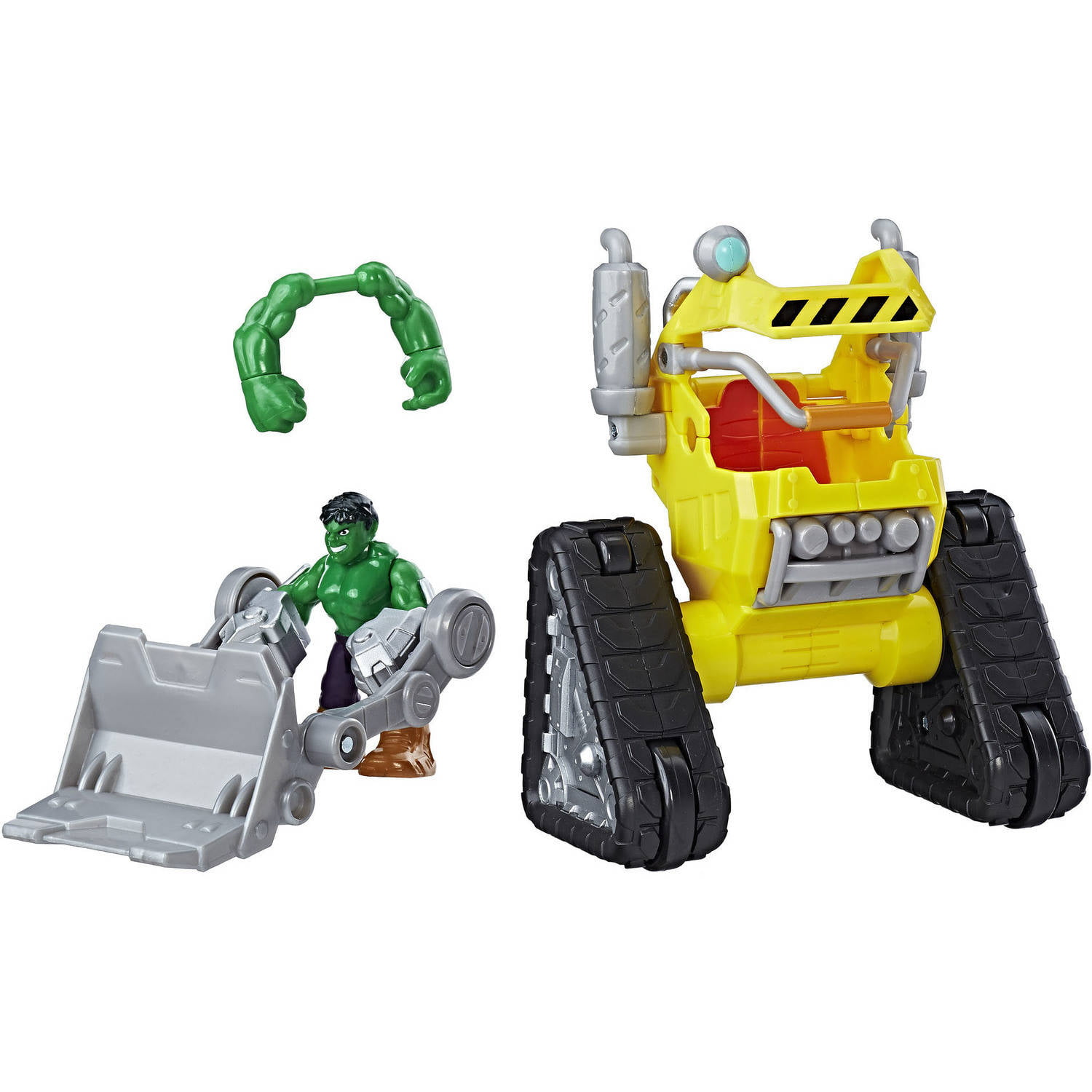 Playskool Heroes Marvel Super Hero Adventures Hulk Power Dozer by Hasbro