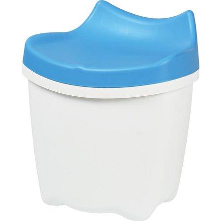 livinbox LaChatte Sit & Store Plastic Storage Chair Toy Storage Organizer,16L