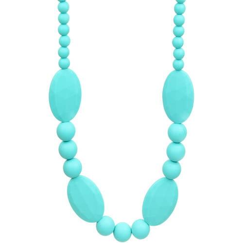 nixi baby toddler ellisse silicone teething necklace