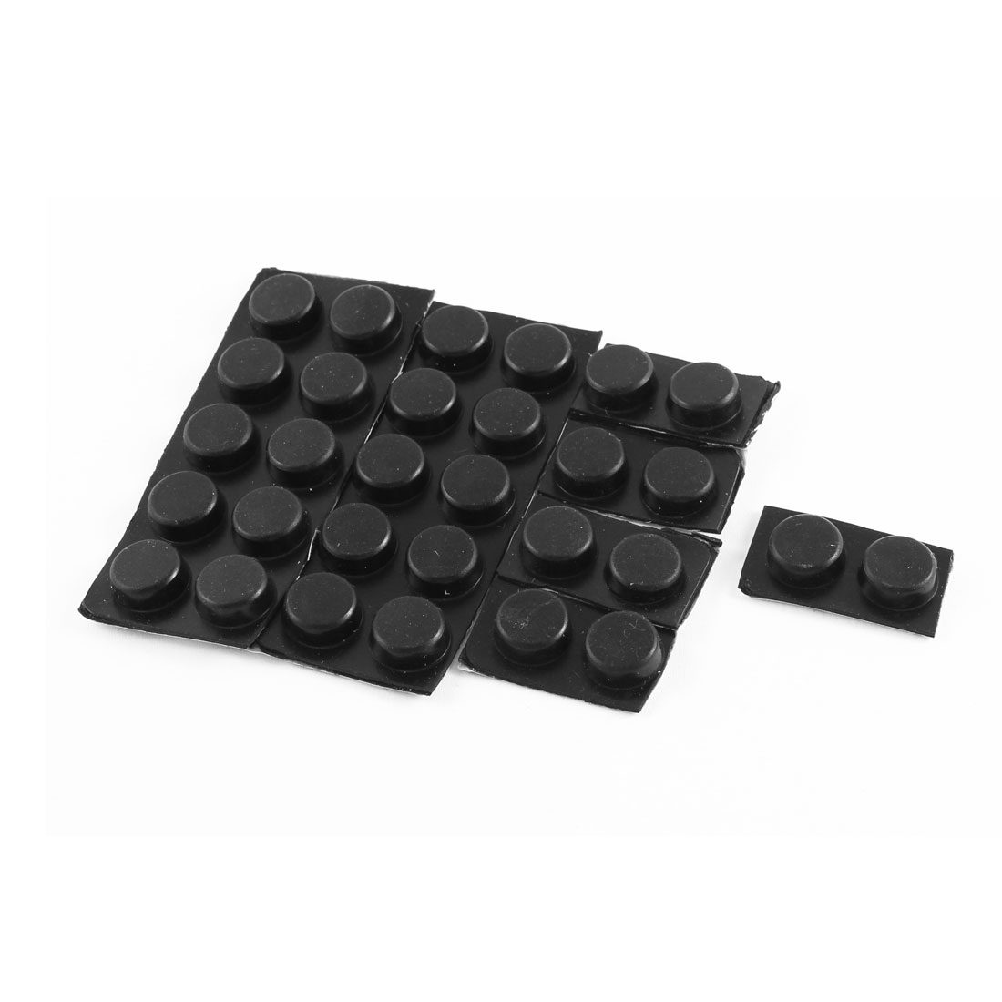 Sofa Chair Table Scratch Protector Round Rubber Adhesive Furniture
