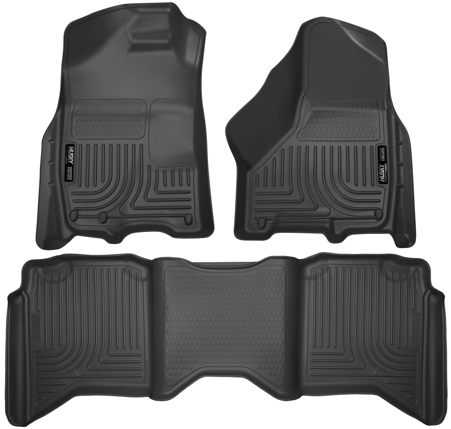 Husky Liners 99441 Front /& 2nd Seat Floor Liners 2014-2015 Honda Civic