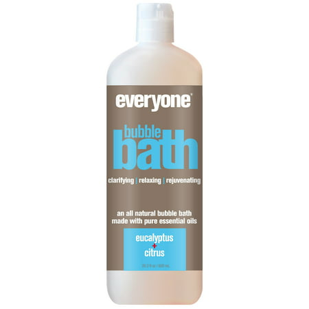 EO Everyone Bubble Bath, Eucalyptus & Citrus, 20.3 Fl Oz - Champagne Bubble Bath