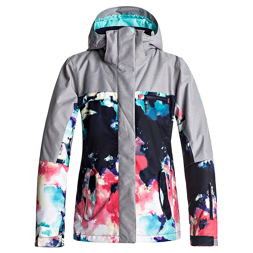 Roxy Jetty Block Womens Insulated Snowboard Jacket by Roxy
