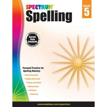 Spectrum Spelling, Grade 5](Halloween Spelling Words Grade 6)
