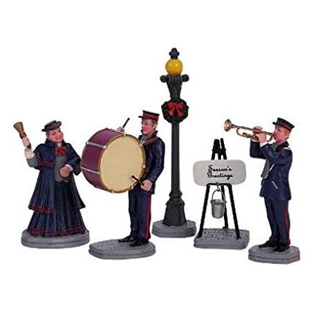 2006 Christmas Band Set of 5 Village Figurines, Set of 5 By Lemax Ship from US