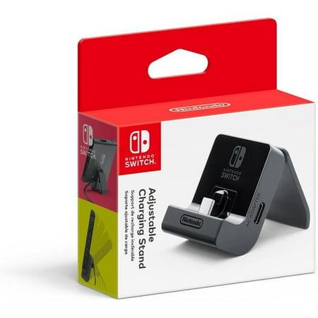 Nintendo Switch, Adjustable Charging Stand, Black, - Nintendo Wii Lighting Stand