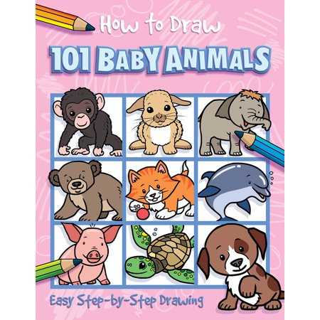 How to Draw 101 Baby Animals - Halloween Pics To Draw