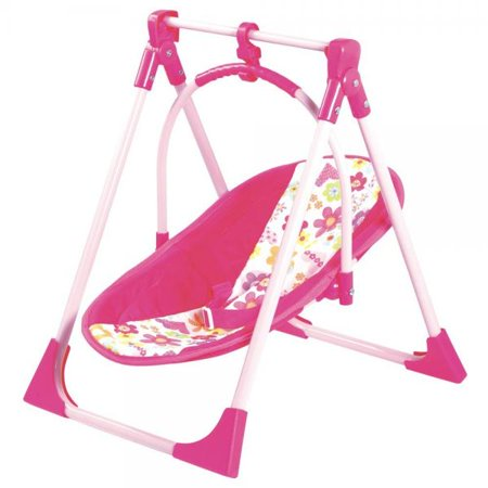 Adora 4-in-1 Playset (Baby Carrier Seat, Swing & High Chair) for Dolls up to 20