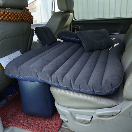 Car Backseat Inflatable Bed Air Mattress Comfortable Sleep With Pillow