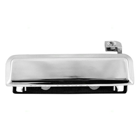 Drivers Outside Exterior Chrome Door Handle Replacement for79-93 Ford Various Models E3FZ5822405A