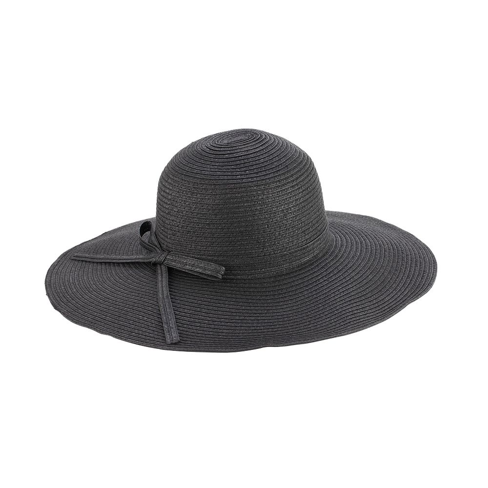 b91d7250e6f Sun Styles Foldable Crushable Laura Ladies Large Brim Sun Hat - Dark Brown