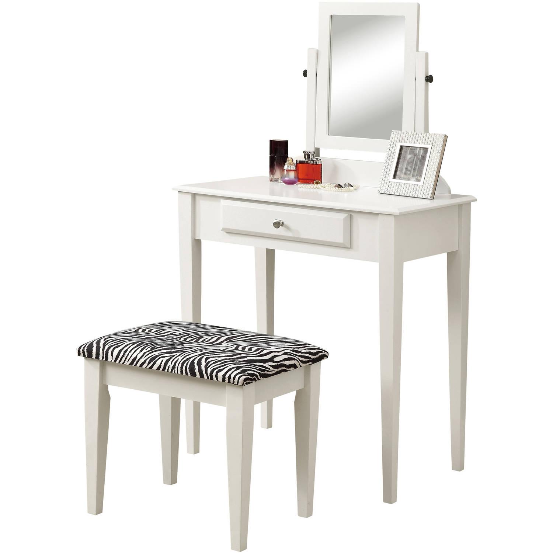 Monarch Vanity Set 2Pcs Set / Cappuccino Marble / Bronze Metal - Walmart