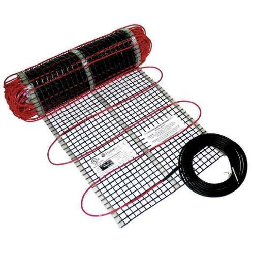 THERMOSOFT WW100-240 Electric Floor Heating Mat, 100 ft. L