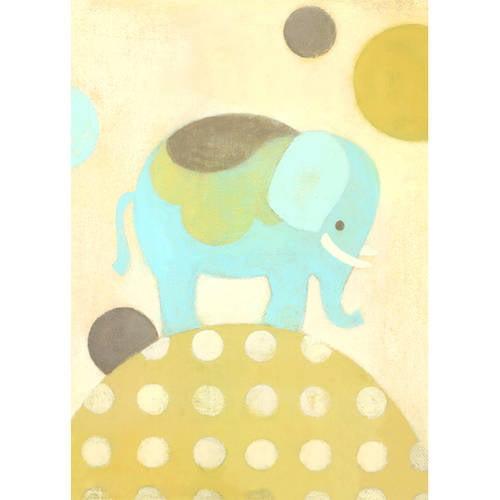 Oopsy Daisy's Ella Elephant Canvas Wall Art, 10x14