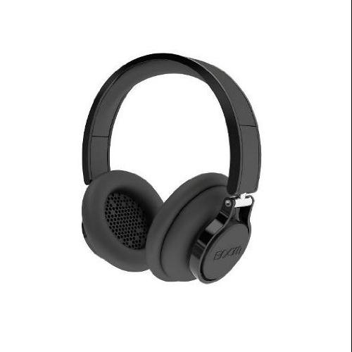 BOOM Rogue Over-Ear DJ Headphones with In-line Controls (Black) by BOOM