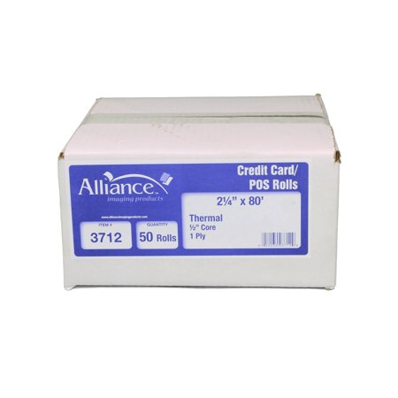 Branded The Alliance Thermal Paper Receipt Rolls 2 1 4 X