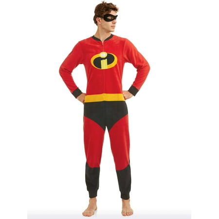 Disney Holiday Family Sleep The Incredibles Family Matching Onesie Pajama (Men's) (Mans Onesie)